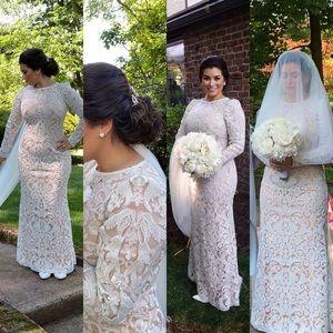 Gorgeous Tadashi Shoji Ivory Lace Gown Sz 10